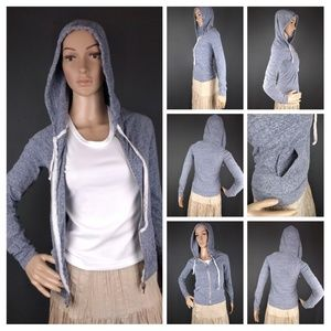 American Eagle gray hoodie sweater size xxs